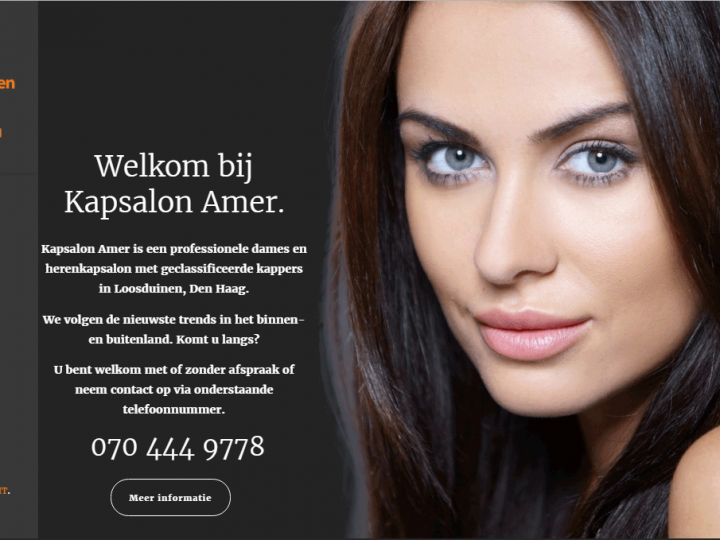 Kapsalonamer.nl has been launched